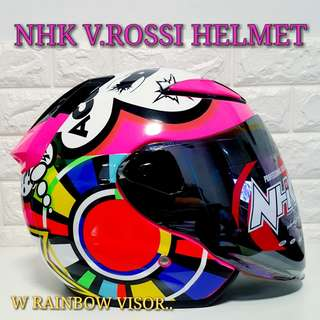 NHK Helmet (V.ROSSI EDITION)