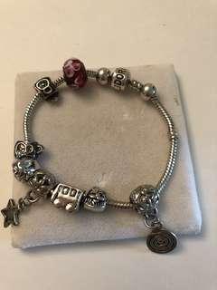Authentic Pandora sterling bracelet