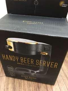 🚚 啤酒打泡機