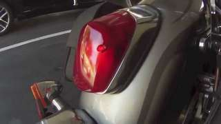 Honda shadow tail lamp assembly