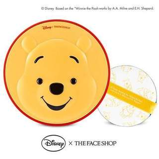 🚚 The Face Shop x Disney CC Cooling Cushion (Winnie The Pooh)