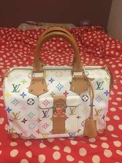 LV Handbag multicolor bought in London LV shop LV 手袋 購於倫敦LV店