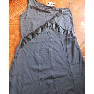 Mint assymetrical bodycon dress
