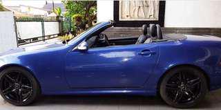 Mercedes benz slk 230 tahun 2000