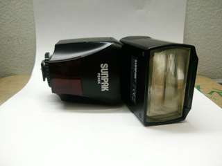 Sunpak flash