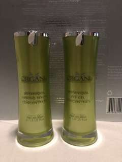 Organi - eye serum and gel (lessens wrinkles!)