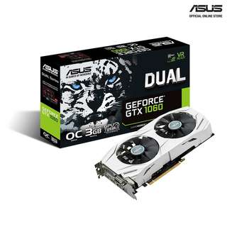 Selling Used Asus GTX 1060 3GB