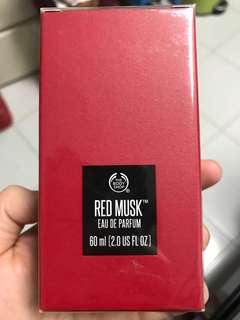 The body shop red musk EDP 60ml