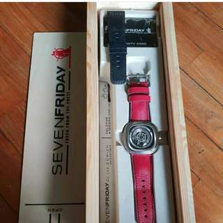 👉CAKEP - SEVEN FRIDAY Unisex Watch#tfç