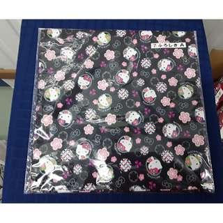 Hello Kitty lucky draw, Hello Kitty cloth wrap