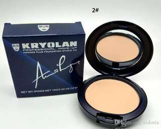 💄💎 Authentic Kryolan Powder Plus Foundation Studio Fix 2 in 1