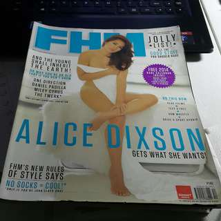 FHM December 2013 Alice Dixson