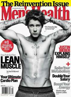 Men's Health magazine Justin Bieber