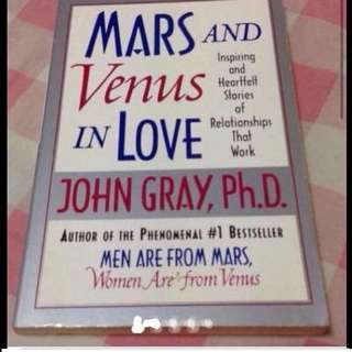 Mars And Venus In Love Book  (Brand New)