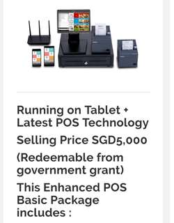 FoodZaps POS Package, Singapore No.1 Point of Sales System and Mobile Ordering Solution