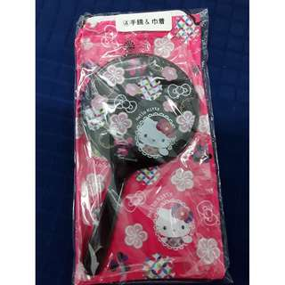 Hello Kitty lucky draw, Hello Kitty mirror with pouch