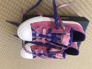BNWB girls Converse shoes