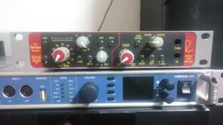 RME Fireface UFX And Rupert Neve Portico 5016