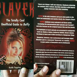 Buffy book Slayer