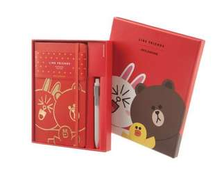 Moleskine Notebook: Limited Edition Line Friends