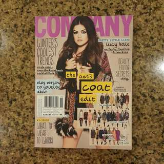 Company magazine Lucy Hale