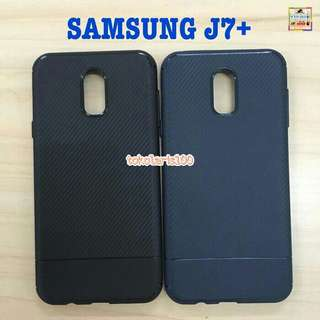 Case Carbon - Softshell - Softcase Samsung J7 Plus