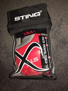 STING Gel Hybrid MMA Fighting Gloves