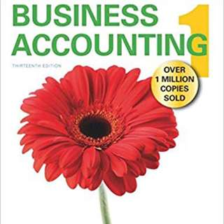 Frank Wood's Business Accouting Textbook 13th Edition