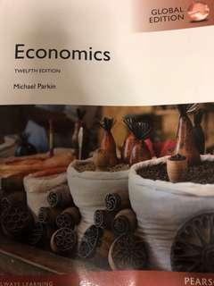 Economics 12th edition textbook - Michael Parkin