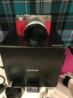 Fujifilm X-A3 pink rose
