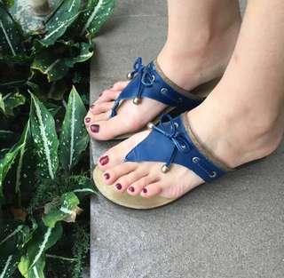 Sandal vincci biru pita #maudecay