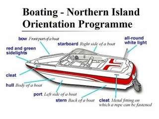 Boat - Northern Island Orientation Programme