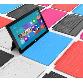 Microsoft Surface tabet 可連續10小時使用的平版電腦 微軟surface 32 GB Nvidia4核 2GB RAM