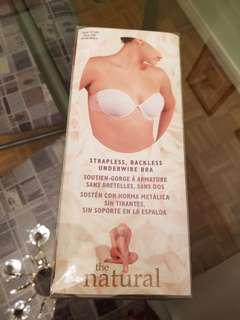 The Natural - Strapless, Backless, Underwire Bra