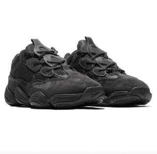 Adidas yeezy 500 utility black size 5