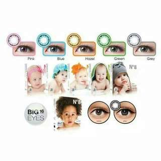 Softlens ICE N•8 Color BLUE By X2/EXOTICON