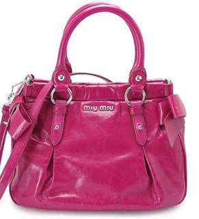 MIU MIU RIBBON BAG