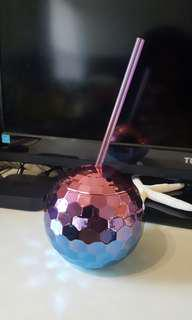 New Beverage Cup w Straw