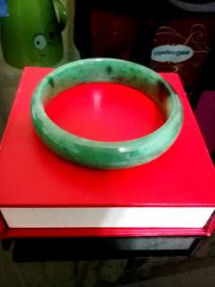 🚚 翠綠玉手環