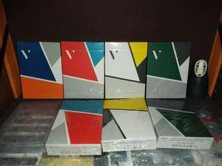Bundle Virtuoso Playing Cards SS14, 15, 16 AND FW 17