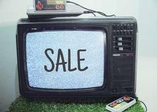 Vintage/Retro Philips TV