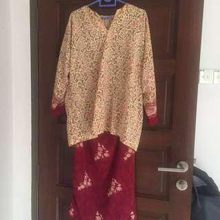 Baju Kurung Tailor Made-Free Size
