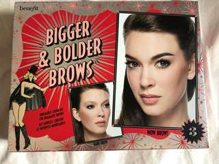 Benefit Bigger & Bolder Brows Kit #3