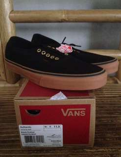 Vans Authentic Black/Rubber/Gum