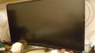 飛利浦32吋電競曲面螢幕