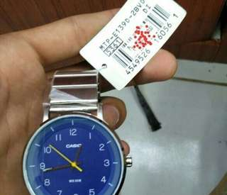 Jam tangan Rantai Pria Casio