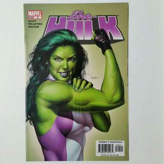 She-Hulk No.9 comic