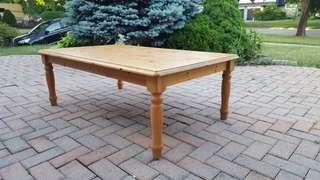 Indoor Wood Coffee Table