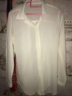 Kemeja putih #maudecay