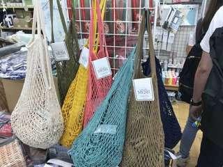 日本MESH夏天海攤網袋包包